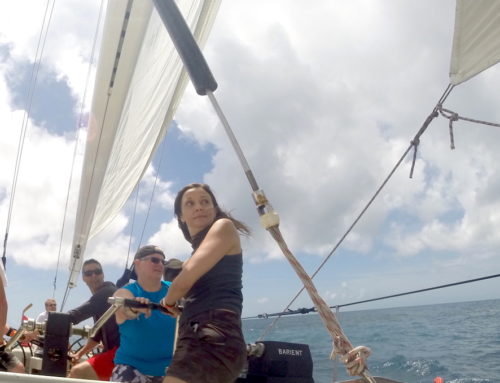 Racing an America's Cup Sailing Boat Through the Caribbean