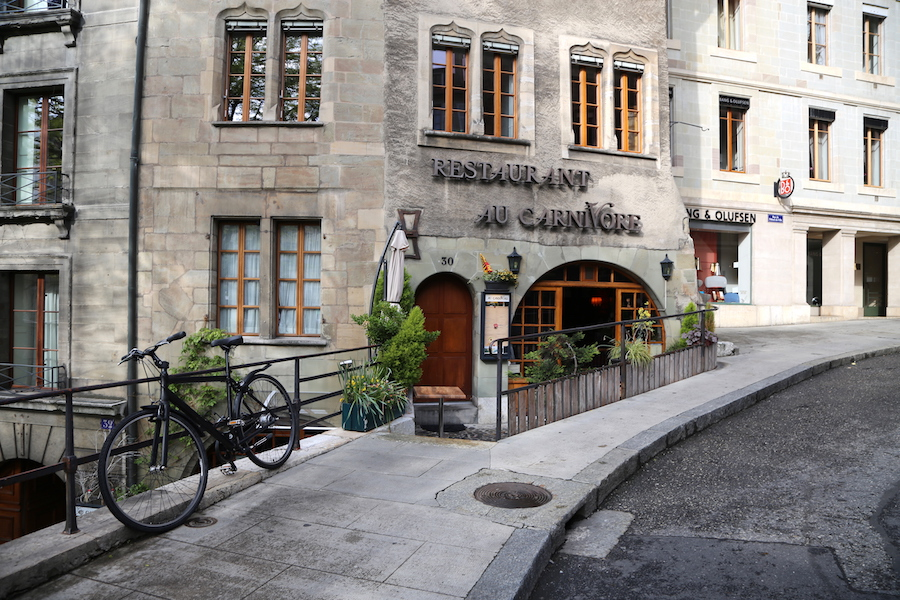 The Old Town of Geneva Switzerland