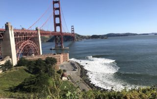 Views of San Francisco's Golden Gate Bridge