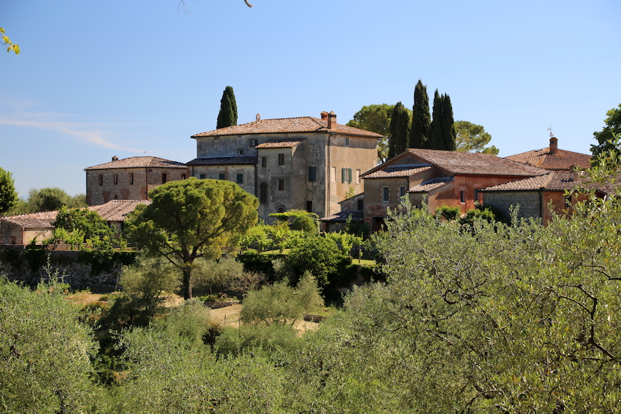 Montestigliano luxury villa estate in Tuscany