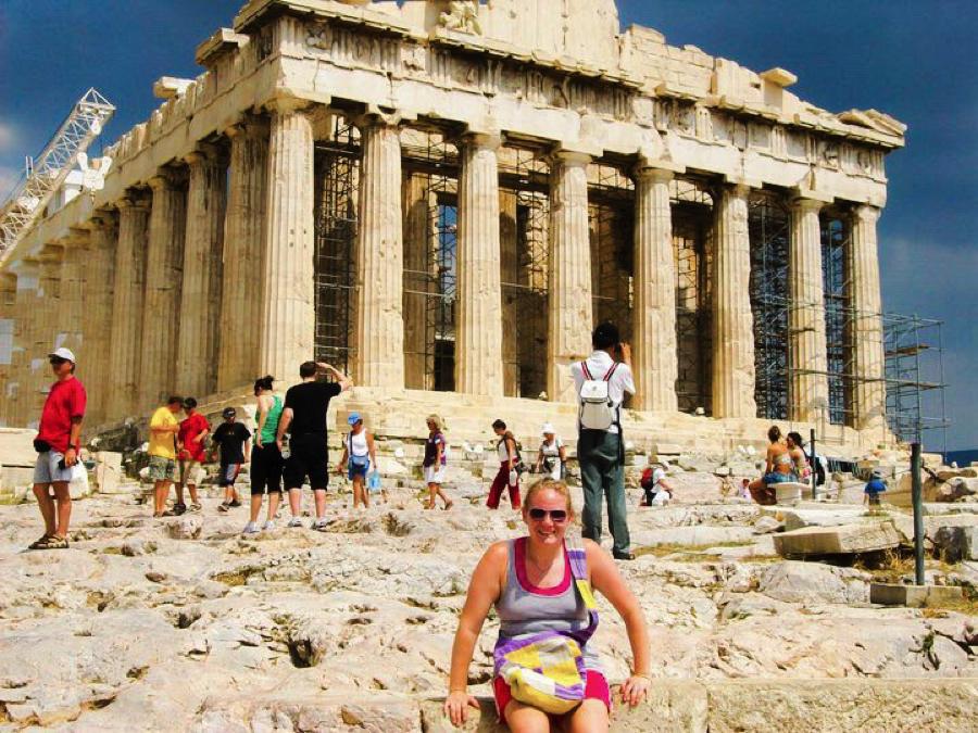 UNESCO world heritage Acropolis in Athens