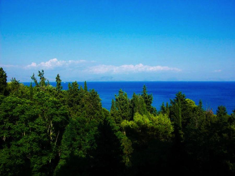 Corfu UNESCO World Heritage Site in Greece
