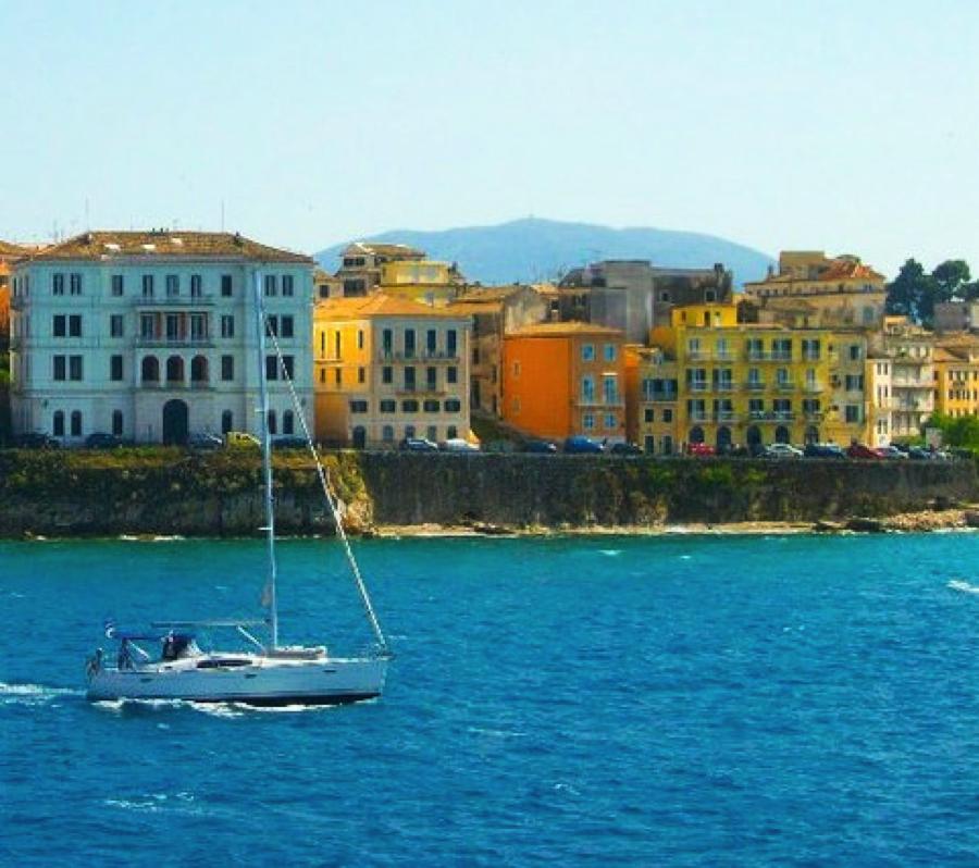 Corfu UNESCO in Greece