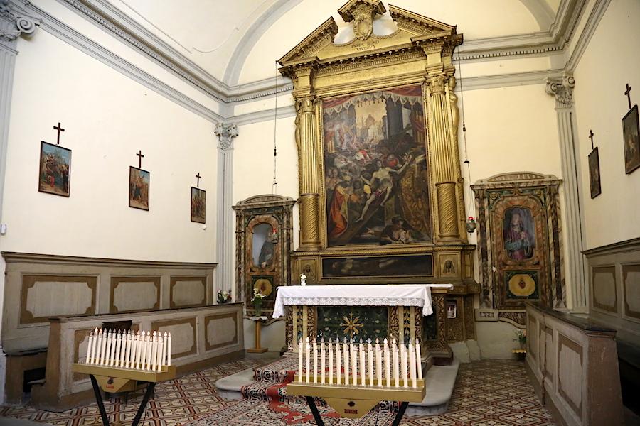 A Church in Mercatello sul Metauro in Le Marche, Italy