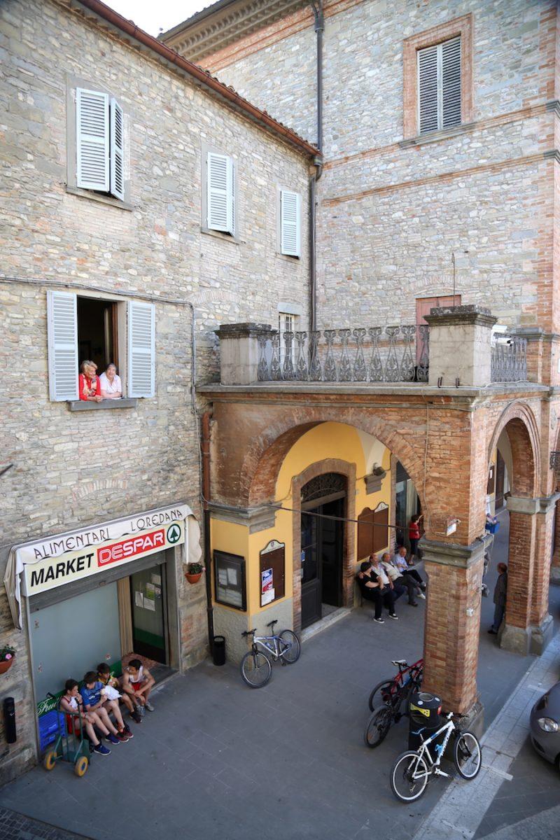 The village of mercatello sul metauro in Le Marche Italy