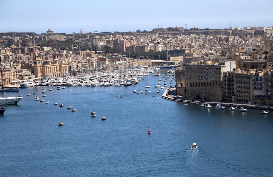 upper barrakka gardens in Valletta | Malta Bucket List: 14 of the Best Things to Do on the European Island