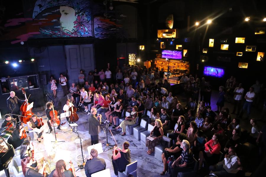 The symphony at Fabrica de Arte Cubano Habana — Havana's Cuban Art Factory