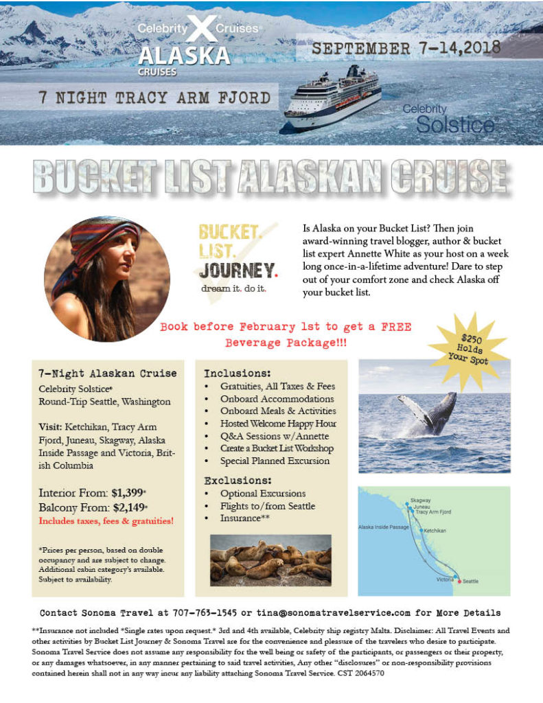 Bucket List Journey Experience: Alaskan Cruise