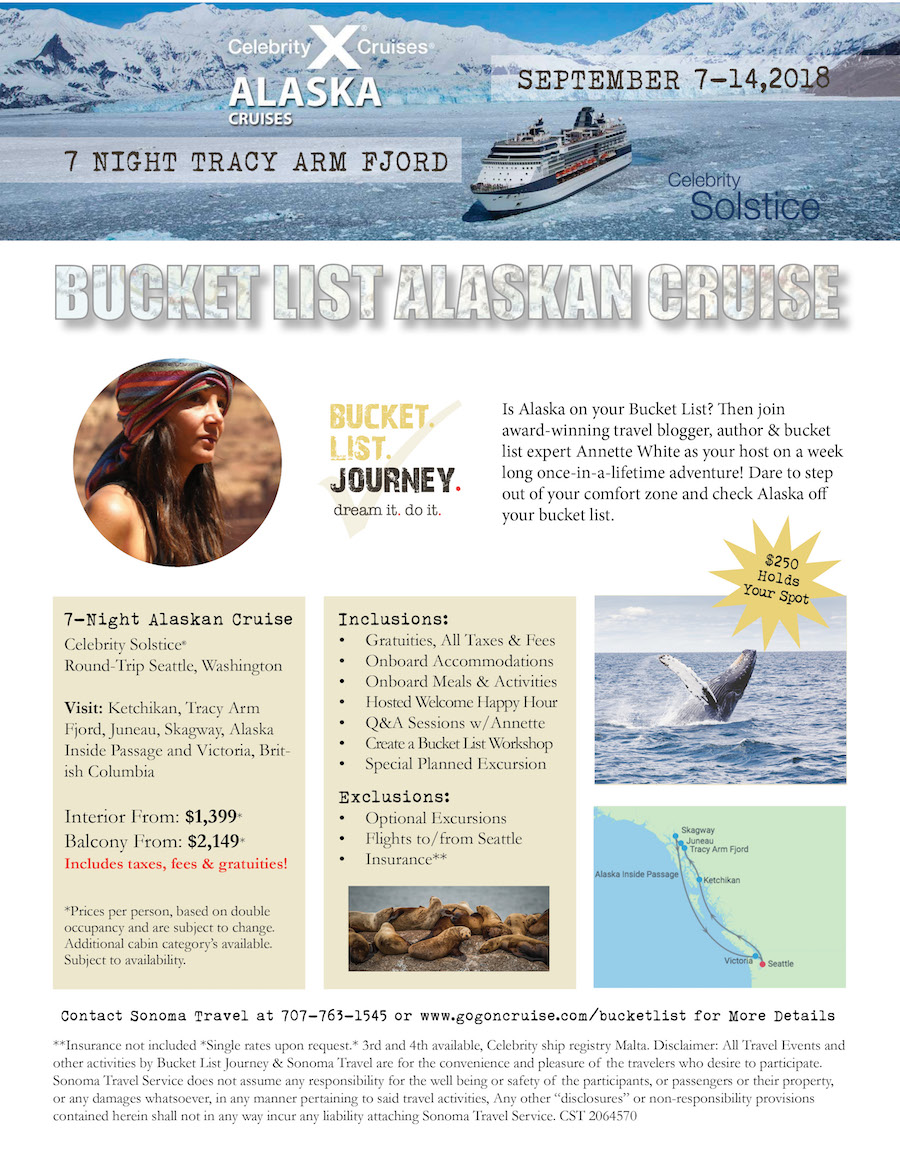 Bucket List Alaskan Cruise with Annette White
