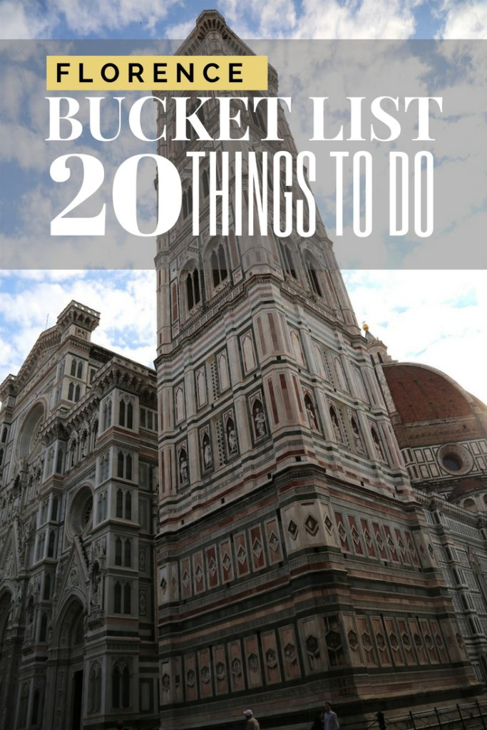 Florence Bucket List | The Best Things to do, see & Eat | italy, italian, tuscany |