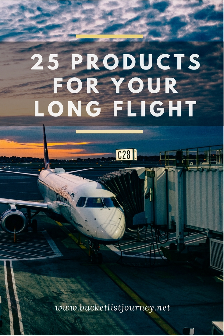Cool Airplane Ready Products & Gadgets to Make Your Long Haul Flight More Comfortable