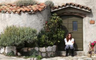 Annette White in Lubenice Cres Croatia