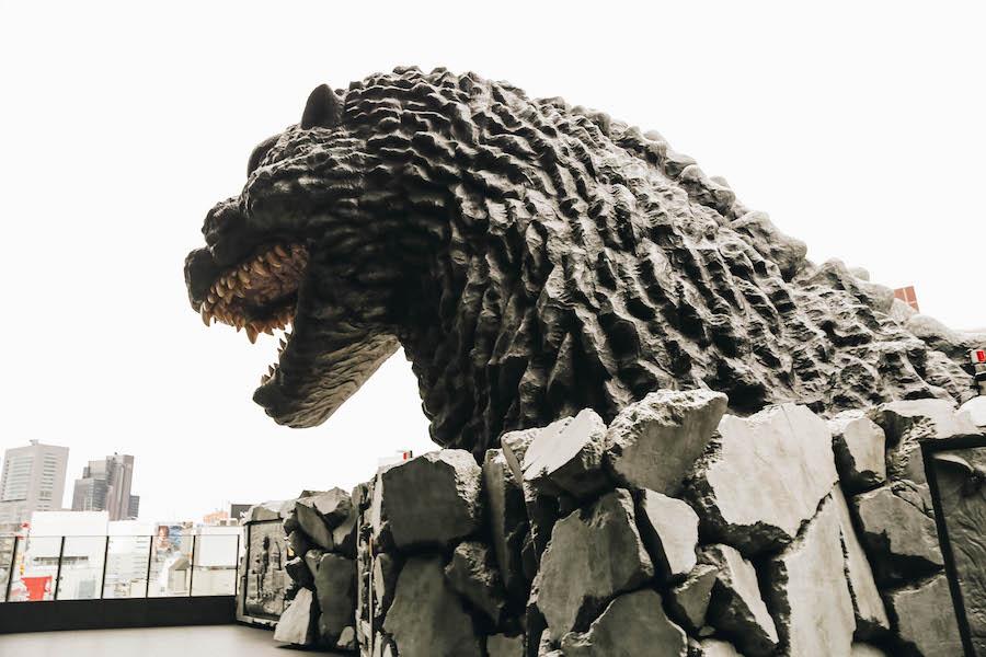 Big Godzilla à Tokyo