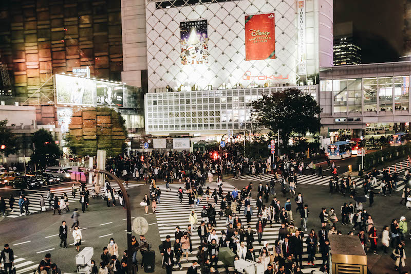 Shibuya Crossing: One of the Top Things to do in Tokyo