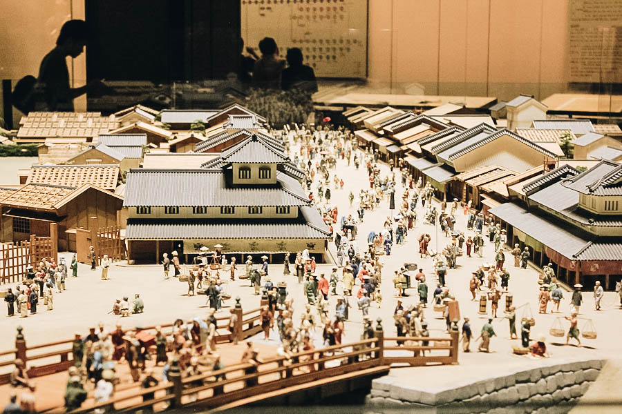 Musée Edo à Tokyo