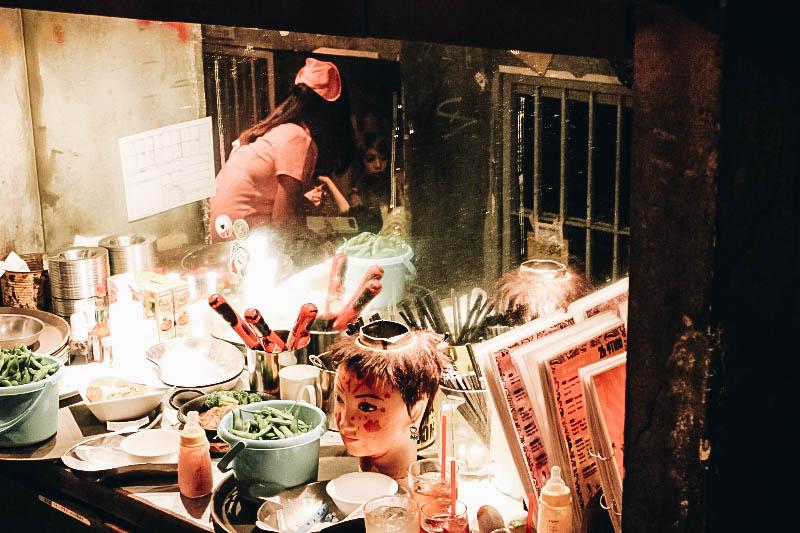 Restaurant à thème Alcatraz ER à Tokyo Japon