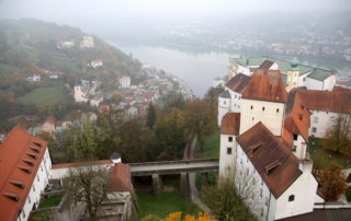The castle in Passau Germany