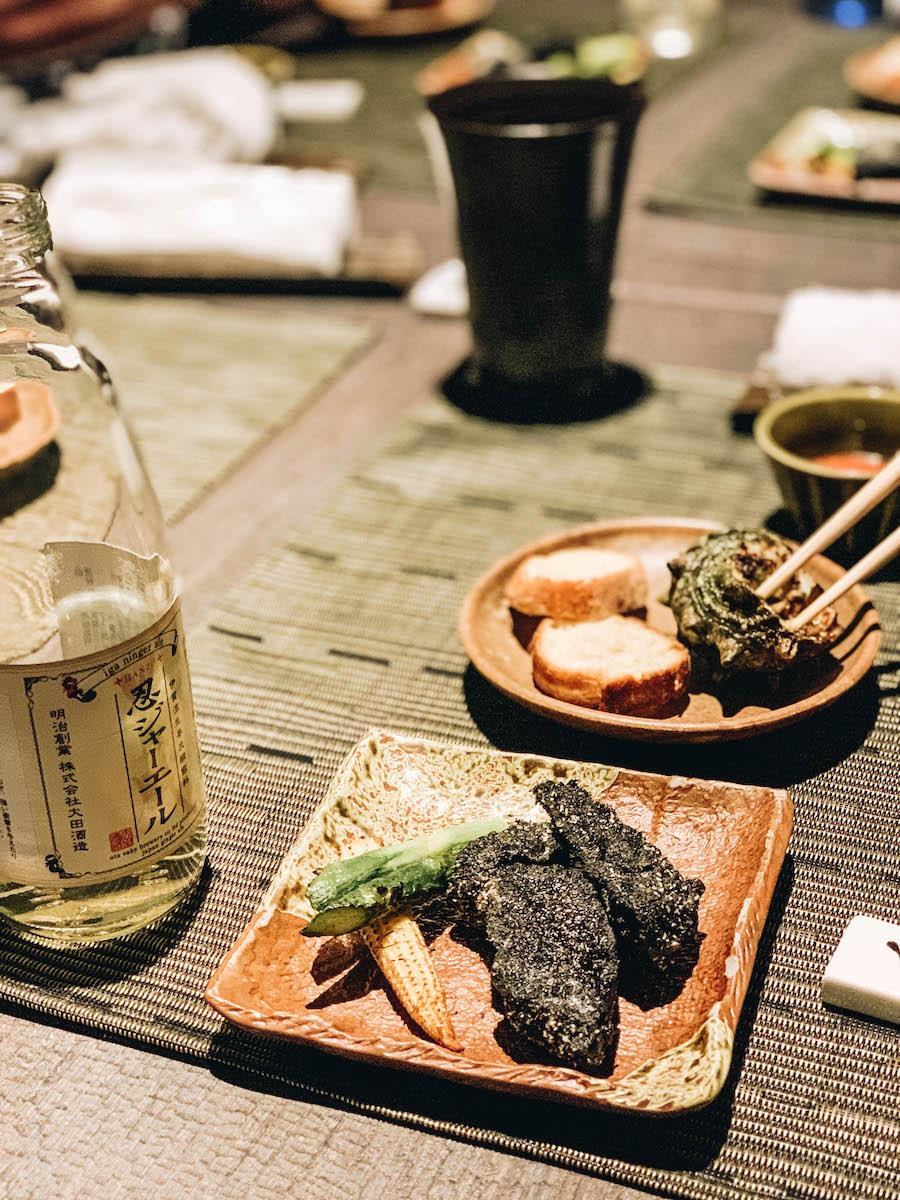 Ninja Restaurant Food in Tokyo