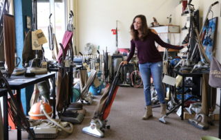 Annette White at Starks Vacuum Museum in Portland Oregon