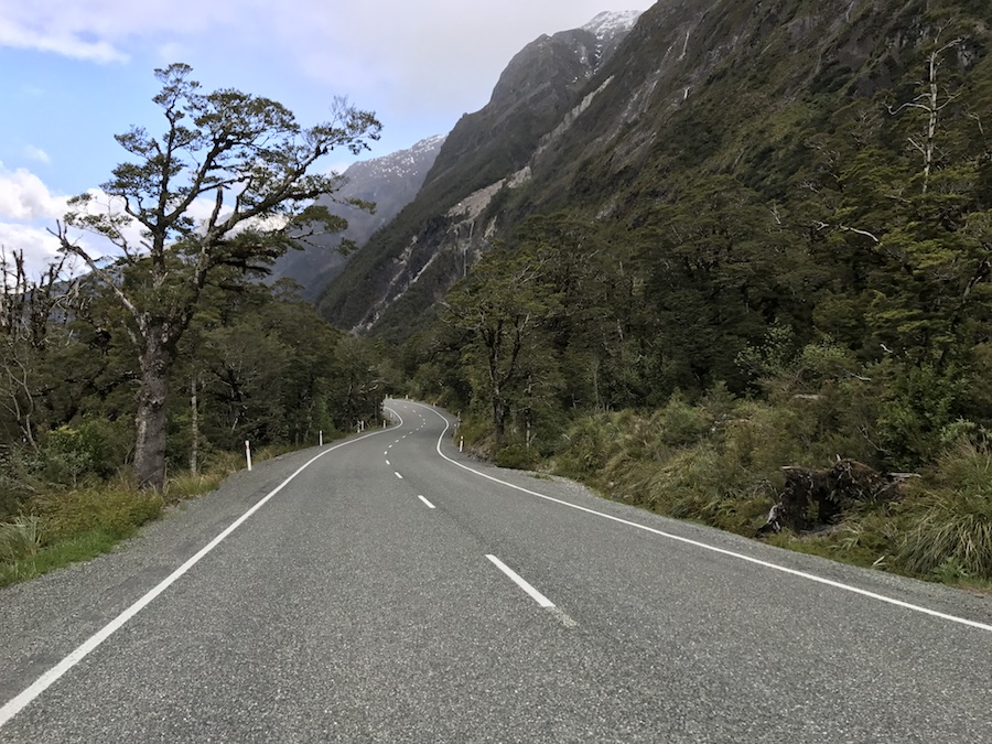 New Zealand Adventure: A Road Trip on the North and South Islands: Milford Sound Road