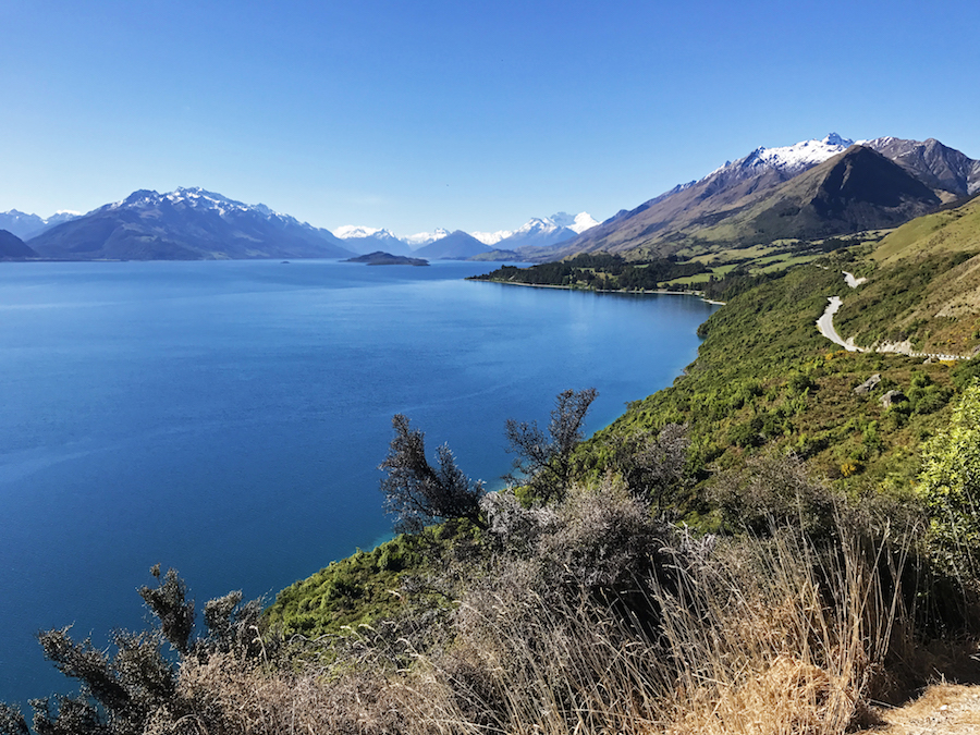 New Zealand Adventure: A Road Trip on the North and South Islands: View going to Glenorchy