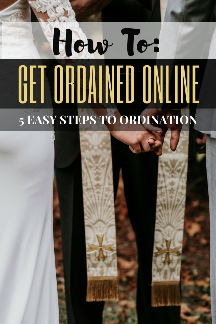 How to Get Ordained Online: 5 Easy Steps to Ordination