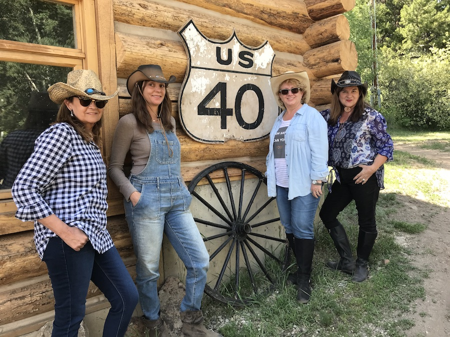 Cowgirls at the Drowsy Water Dude Ranch in Granby Colorado