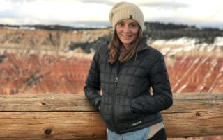 Annette White in Utah at Cedar Breaks National Monument