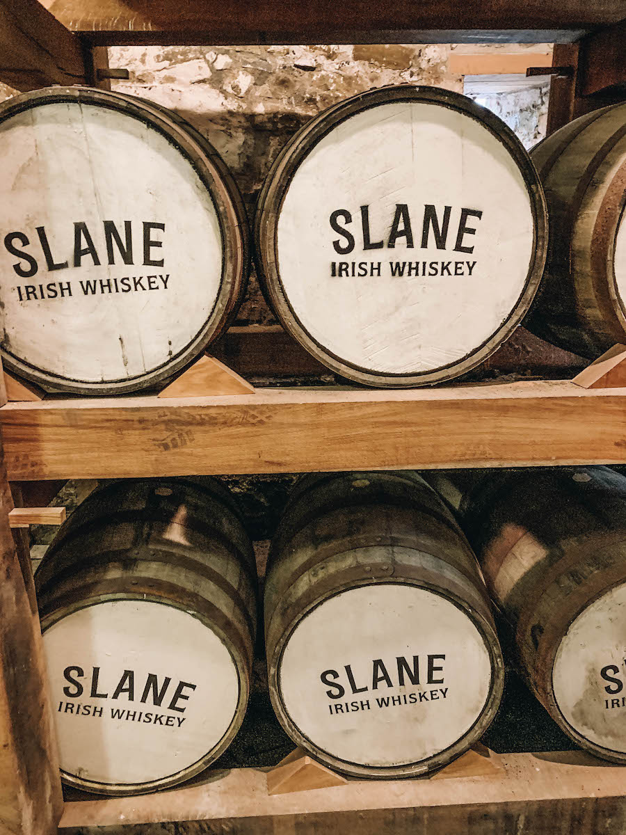 Slane Whiskey Distillery next door to Slane Castle