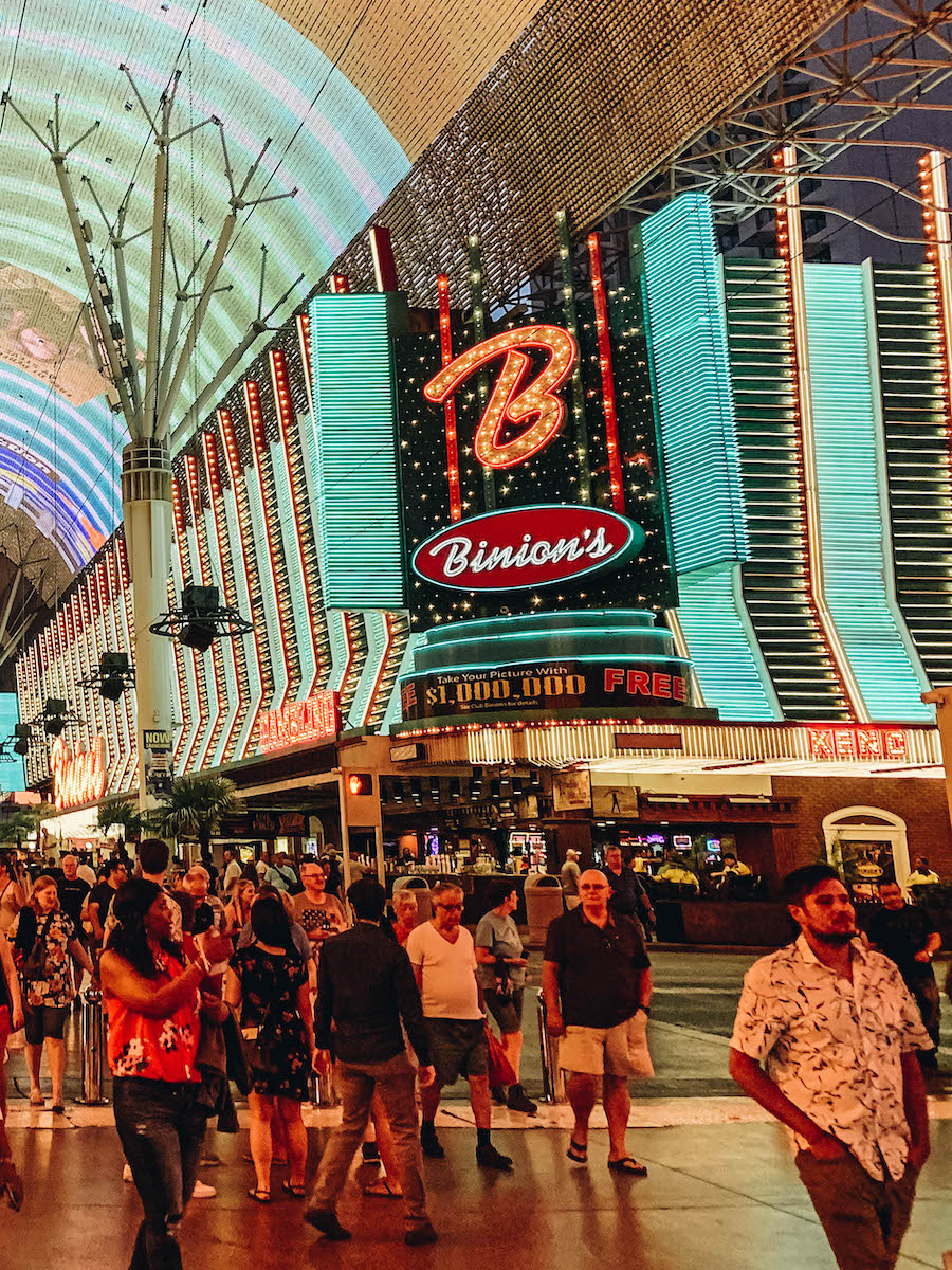 Binions: Downtown Las Vegas Bucket List: Best Things to Do Off The Strip