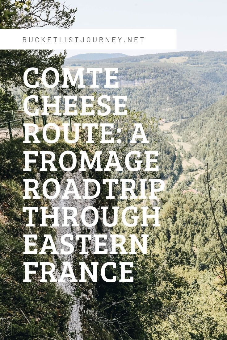Pinterest Graphic 3 for Comte Cheese Route