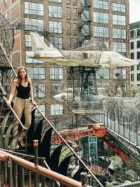 Annette White at City Museum in St. Louis