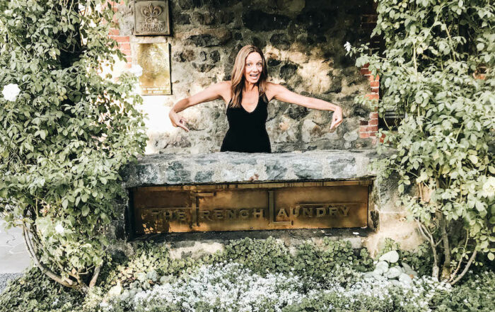 Annette by The French Laundry sign | Getting Reservations at The French Laundry & What to Expect After