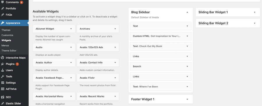 Widgets: How to Start Your Own Successful Bucket List Blog in 6 Easy Steps