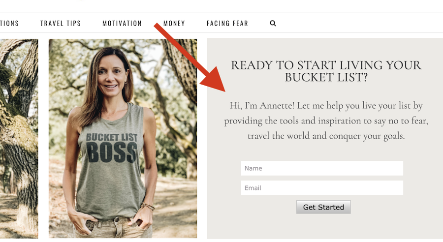 Email Services: How to Start Your Own Successful Bucket List Blog in 6 Easy Steps