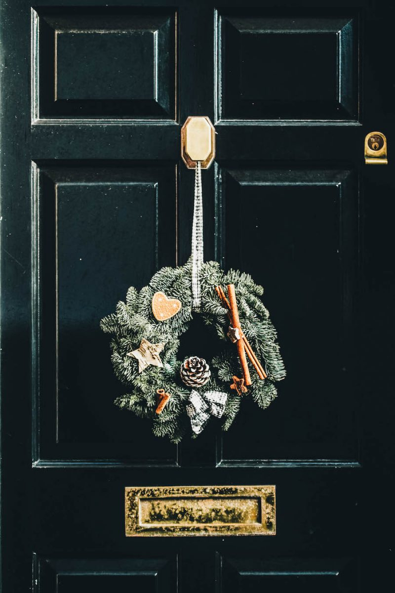 Wreath for Your Front Doo