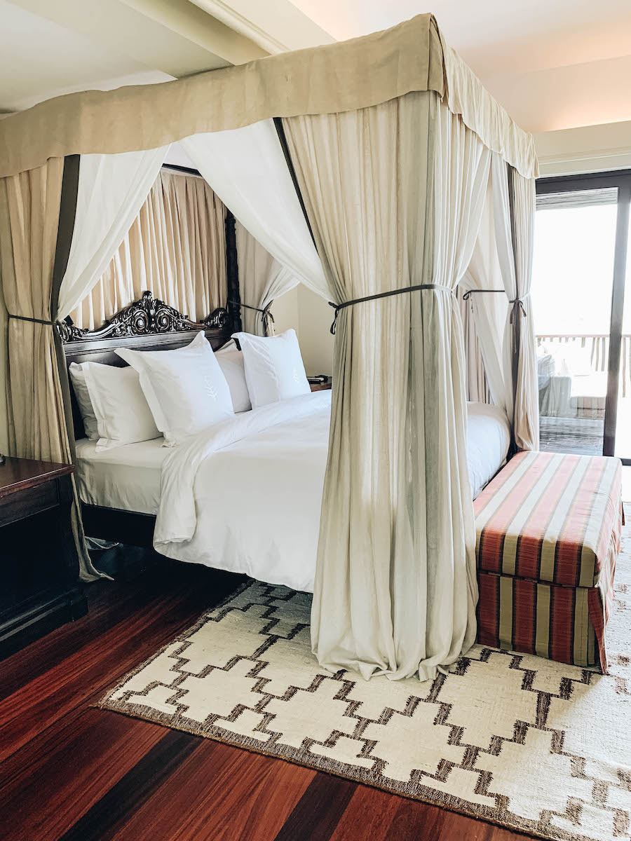 Rooms at the Four Seasons Safari Lodge in Serengeti National Park