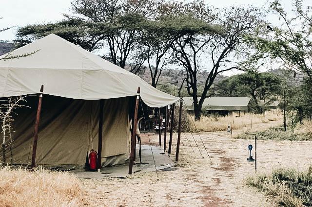 Serengeti National Park Tented Camp on Tanzania Safari