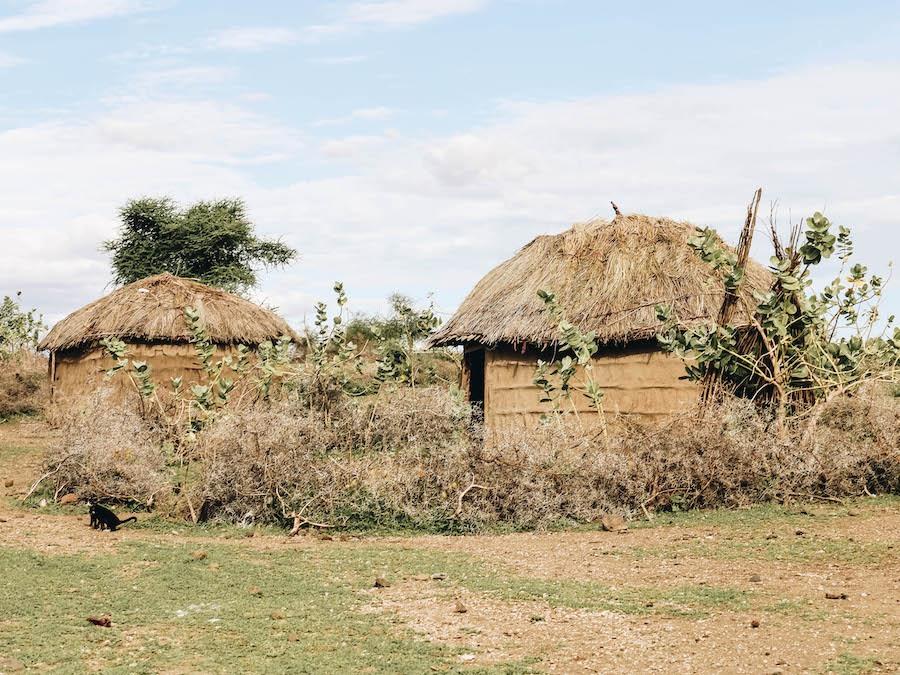 Ol Mesera Maasai Village visit while on Tanzania Safari