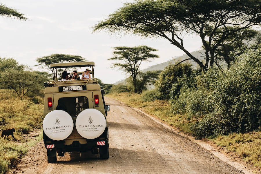Four Seasons Safari Lodge in Serengeti National Park