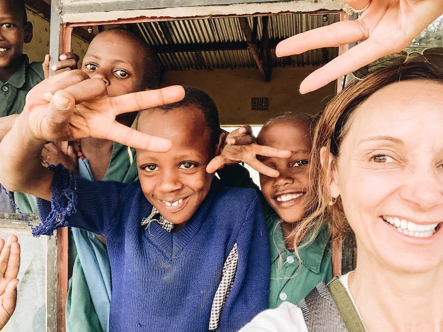 Ol Mesera School: African Safari Stop