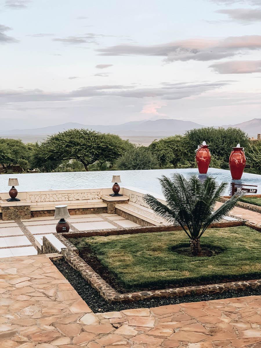 Safari Lodge in Tanzania