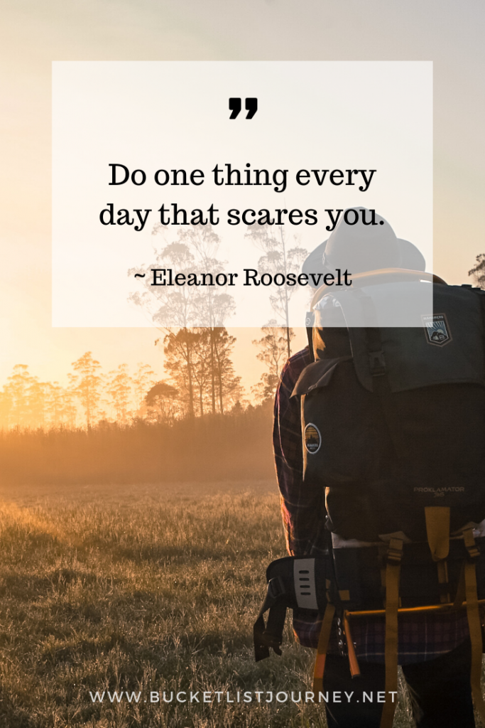 Quote by Eleanor Roosevelet | Quotes that Will Motivate You to Step Outside of Your Comfort Zone