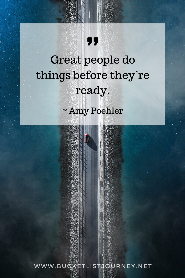 Amy Poehler Quote | Quotes that Will Motivate You to Step Outside of Your Comfort Zone