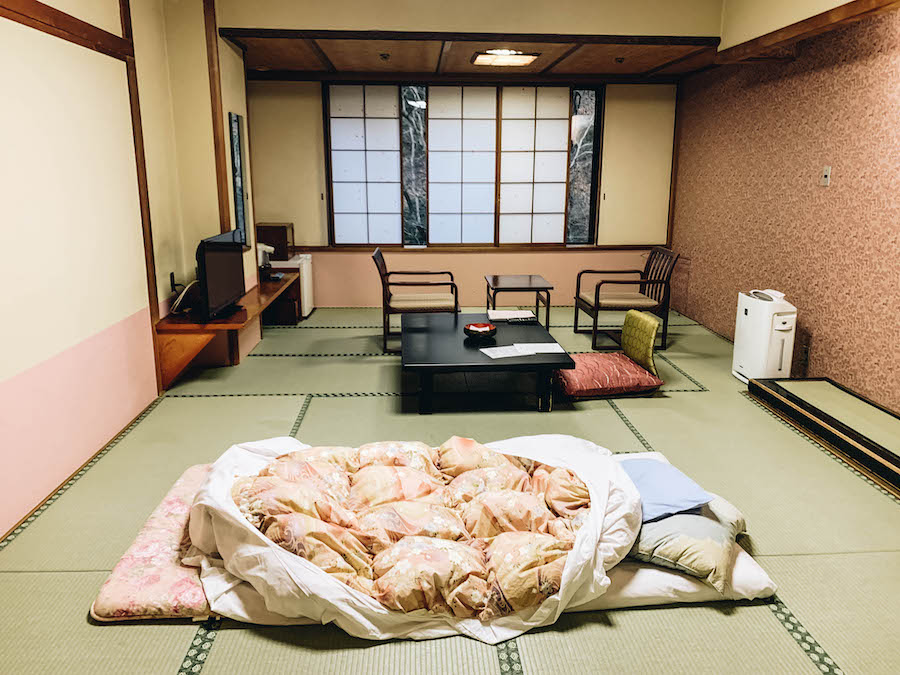Harataki Ryokan close to Tokyo