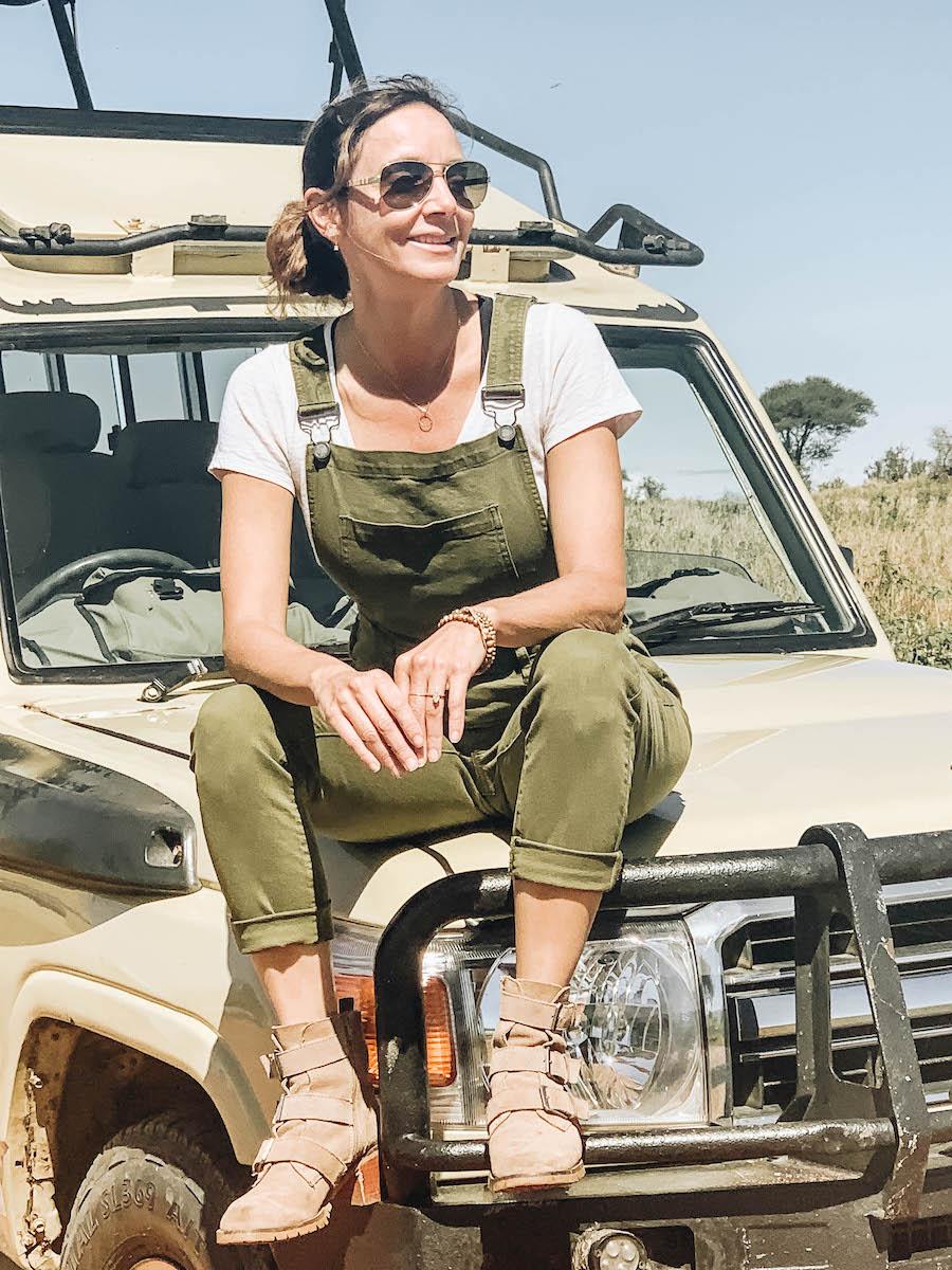 Annette White in Tanzania Africa