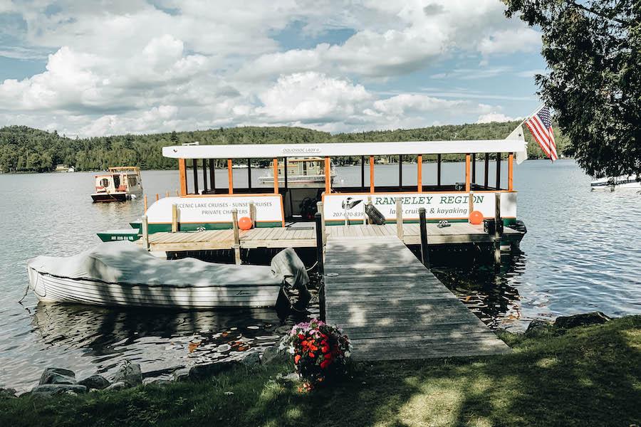 Rangeley Lake in Maine