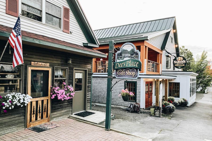 Downtown Rangeley Maine