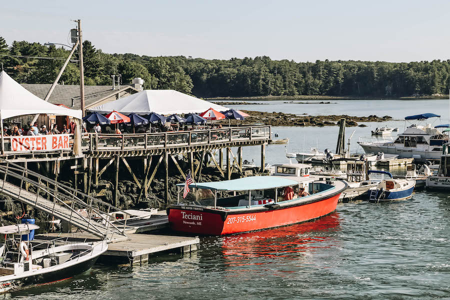 Oyster Cruise on Maine's Pemaquid Peninsula & Point