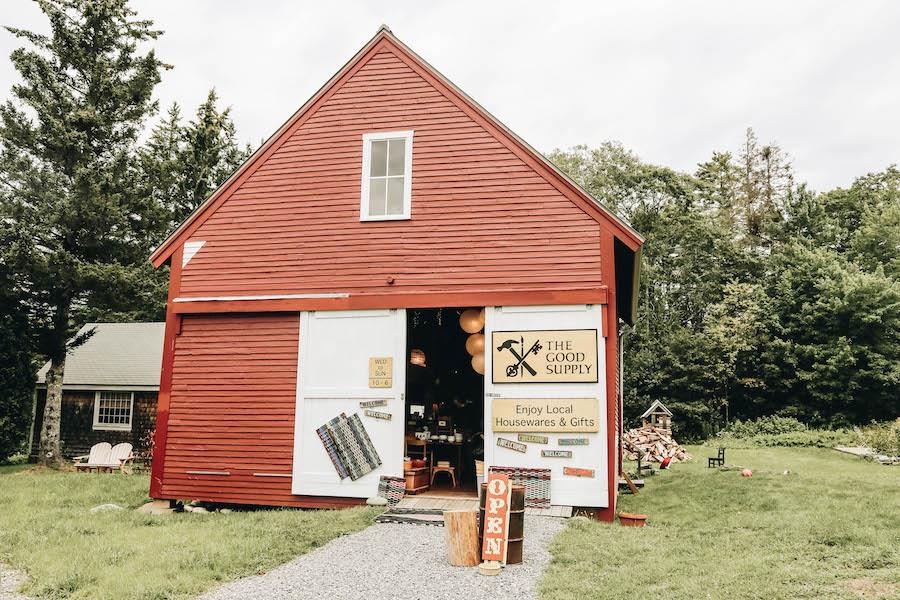 The Good Supply on Maine's Pemaquid Peninsula